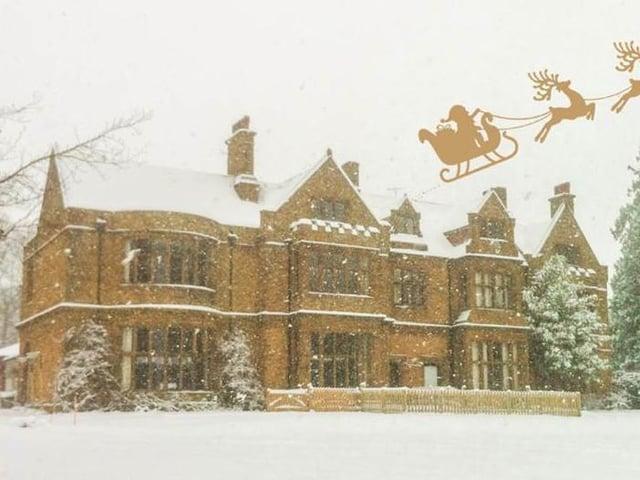 Carrdus School Welcome Santas Reindeer Banbury Guardian