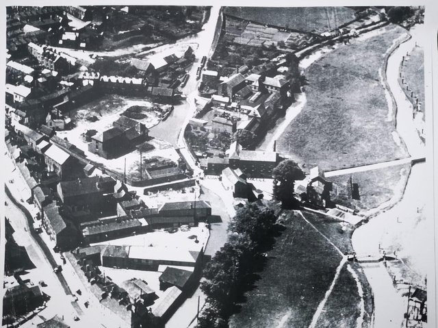 Tooley's map of Banbury in 1920.