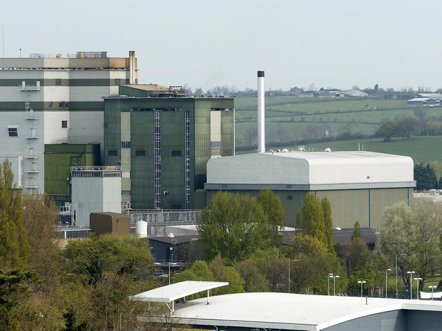 Banbury landmark - the JDE coffee factory, formerly Mondelez, Kraft and Birds