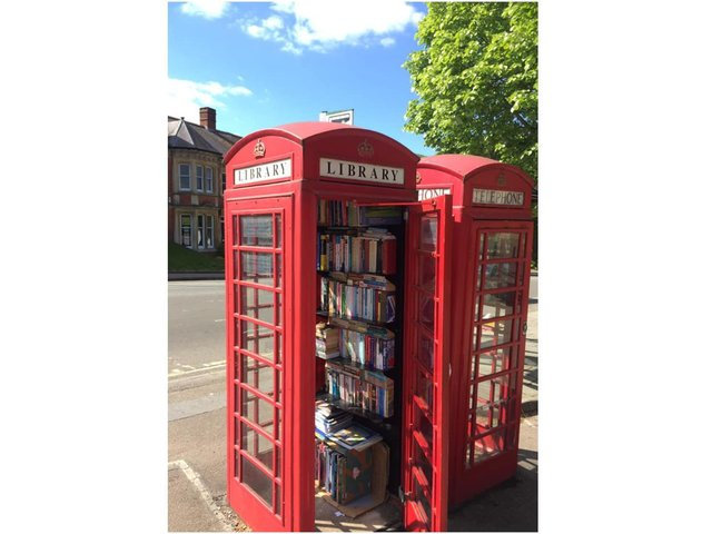 Banbury's Phone Box Library, has decided to mark World Book Day - Thursday March 4 - by compiling a list of books that they think everyone will enjoy. (photo from the Banbury Phone Box Library Facebook page with permission)