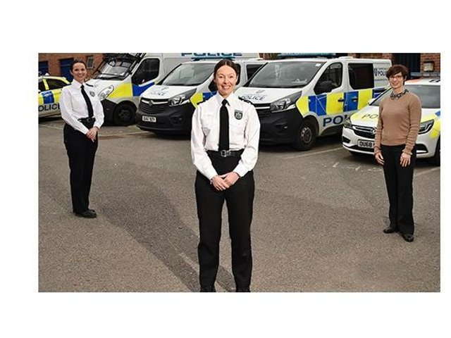 Local Policing Area (LPA) Commander Emma Garside, Deputy LPA Commander Joanne Hutchings and Detective Chief Inspector Kelly Glister talk about what they hope to bring to Cherwell and the expertise they share.