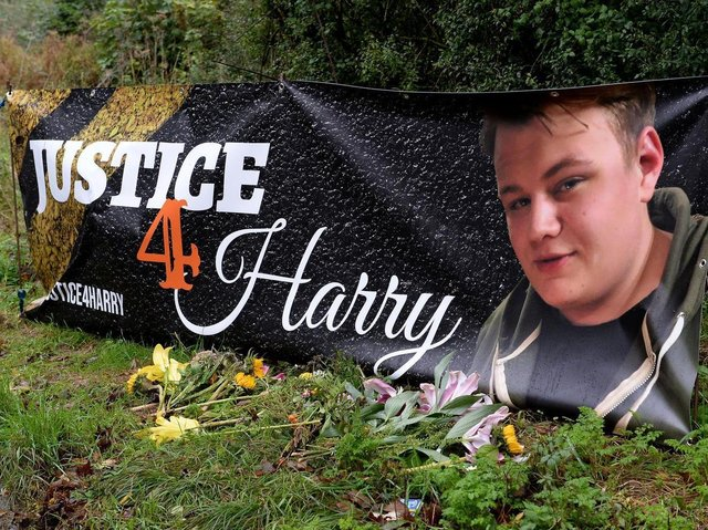 Harry's family launched their campaign for justice following the 19-year-old's death in August 2019
