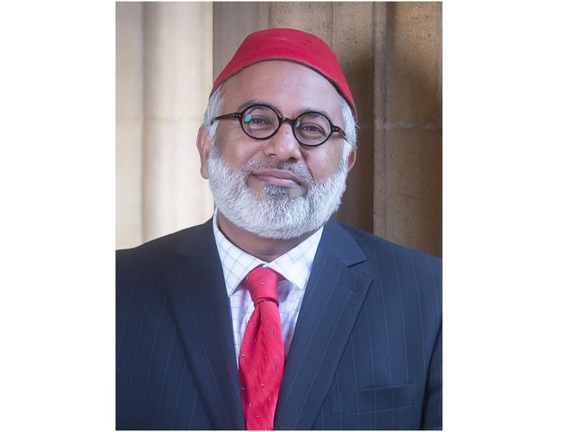 Theologian, Imam and former businessman, Monawar Hussain has been appointed as Oxfordshire's new High Sheriff (photo from Oxfordshire County Council)