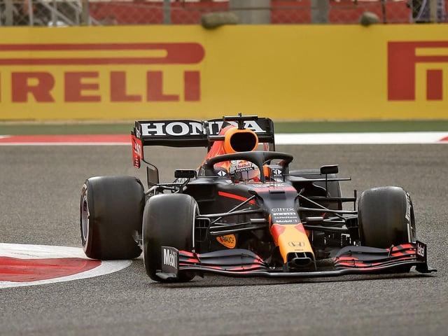 Max Verstappen was quickest on Friday