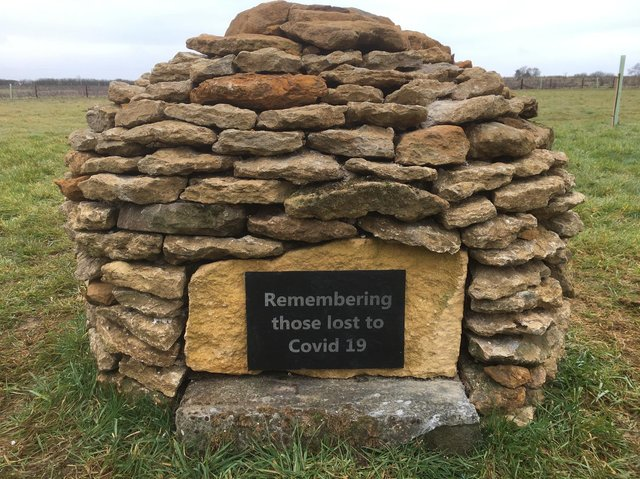 Banbury area business - Mid-England Barrow - helping remember Covid-19 victims with memorials for upcoming National Day of Reflection