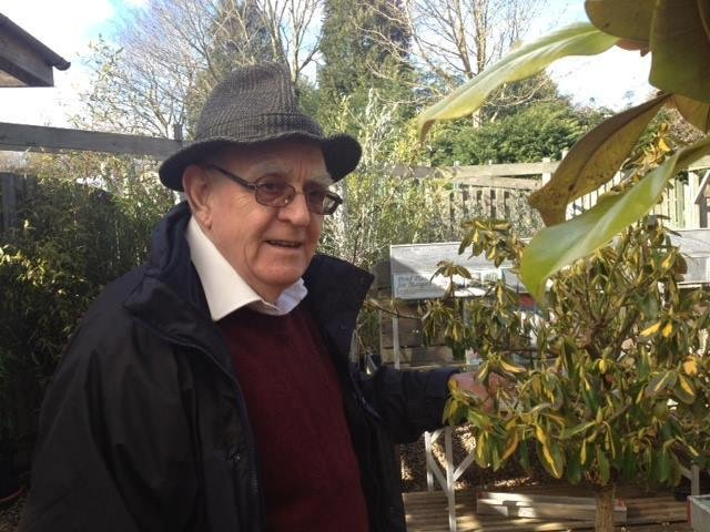 Mr Alan Sargeant, a long-time member of the Banbury Historical Society, Banbury Camera Club among other local groups has died at the age of 86. (photo from the Sargeant family)