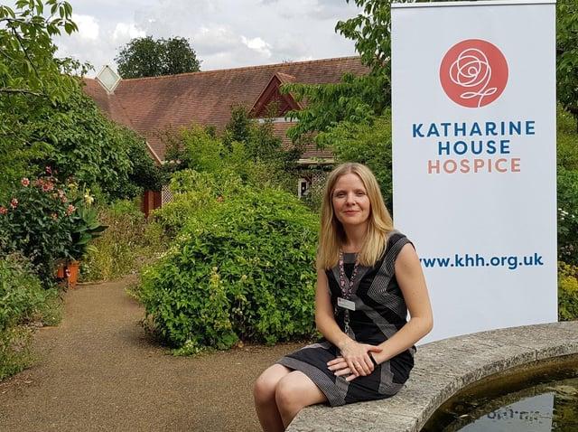 Angharad Orchard, CEO of Katharine House Hospice