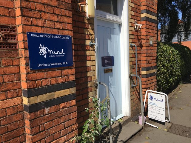 The Banbury Safe Haven is located at The Banbury Wellbeing Hub, Britannia Road, Banbury (Image from Oxfordshire Mind)