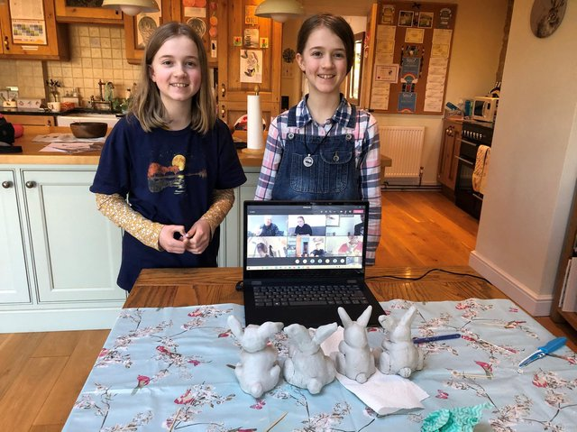 Sibford School recently hosted a wellness day with a range of activities for pupils and their families from cooking to iPad art, to bird watching. (Photo from Sibford School)