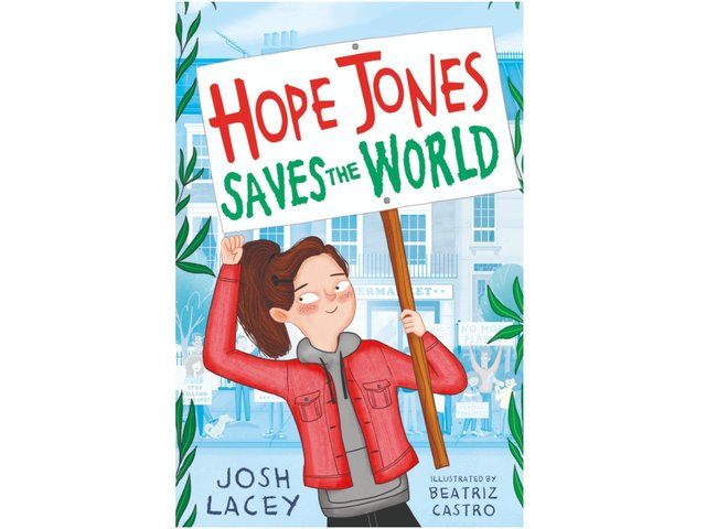 Pupils at Harriers Academy recently enjoyed their first ever virtual author visit by Josh Lacey, who wrote Hope Jones Saves The World