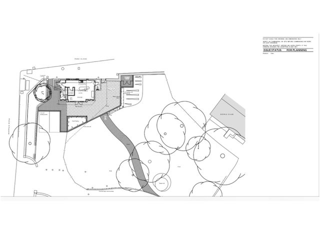 Plans have been filed to create a new cafe in Peoples Park in Banbury. (Image from planning documents filed with Cherwell District Council)