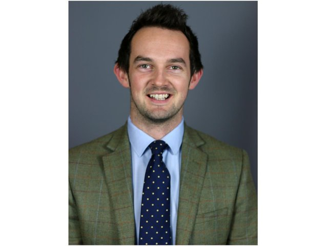 Fisher German property consultancy and estate agents has promoted James Wadland, who is part of the firm's infrastructure services team, to associate director.