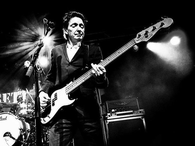 The legendary Jam bass player Bruce Foxton is sure to thrill the audience with his thumping base lines at Music at the Crossroads