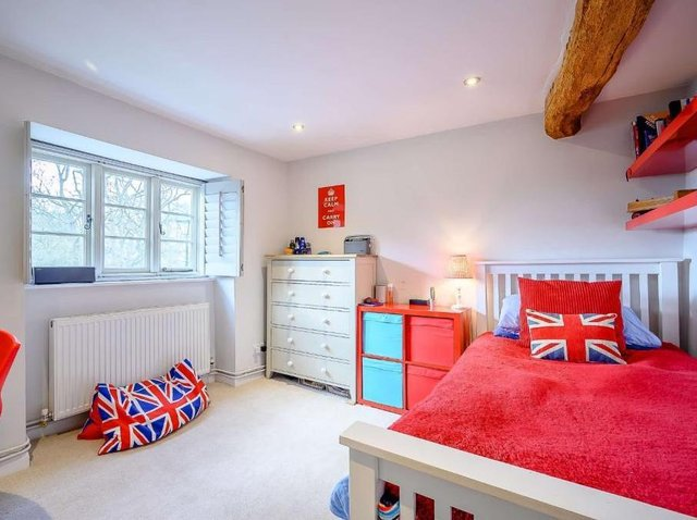 A bedroom at Ivy Cottage (Image from Rightmove)
