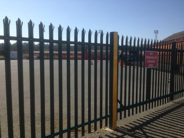The Banbury Plant Hire Community Stadium locked up to everyone