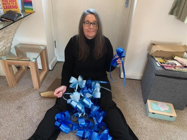 Helen Cunningham, joint-organiser of the NHS Blue Ribbon Appeal