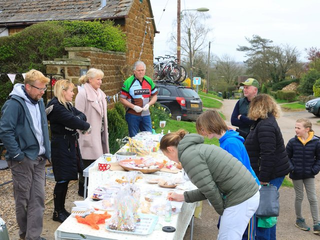 The villages of Little and Great Bourton held successful bake off on Easter Saturday to raise money for the All Saints Bell Tower Restoration Fund. ( Photo  by Lee Atherton)