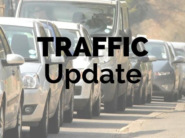 Traffic advisory: full road closure near Banbury area village due to incident
