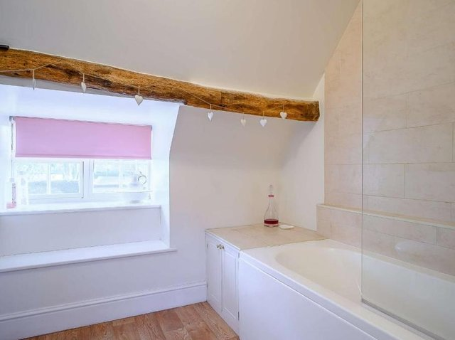 Bathroom at Brasenose Cottage in Middleton Cheney (Image from Rightmove)