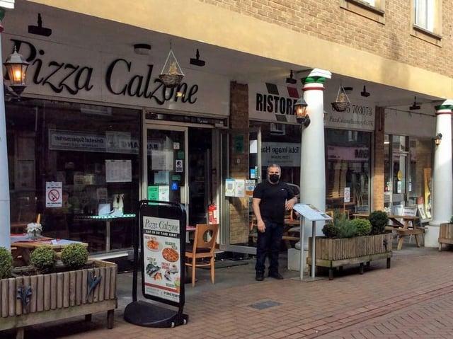 Hasan Tasyurdu of Pizza Calzone in Banbury_Little Ankle Biters Award winner