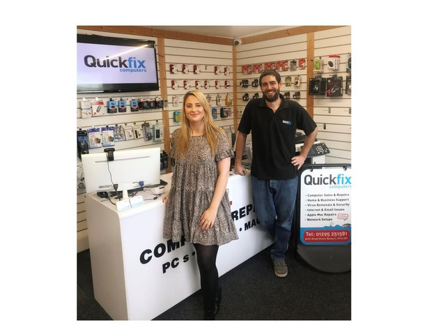 Quickfix Computers - a local, family-run business founded in 2008, with shops in Banbury and Redditch - will be offering advice to help us get through our battles of man against machine.