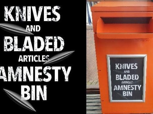 A knife amnesty bin will be placed at three places across Oxfordshire, including the Banbury Police Station.(Image from Thames Valley Police website)