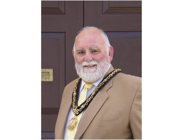 Brackley Mayor Cllr Chris Cartmell has decided to 'Brave the Shave' for Macmillan Cancer Support to help raise much needed funds for the charity.