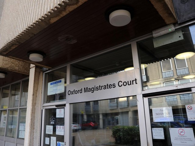 Oxford Magistrates' Court whee cases from the Banbury area are heard