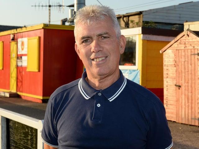 Banbury United chairman Phil Lines