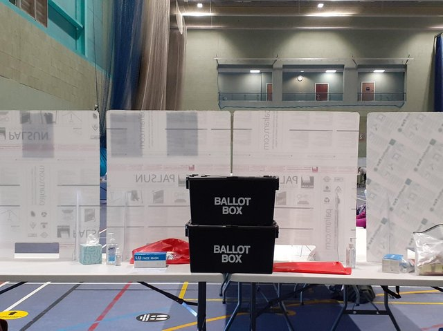 Officials started the verification process of the ballot papers in Cherwell District Council today (Friday May 7 - Image from Cherwell District Twitter feed)