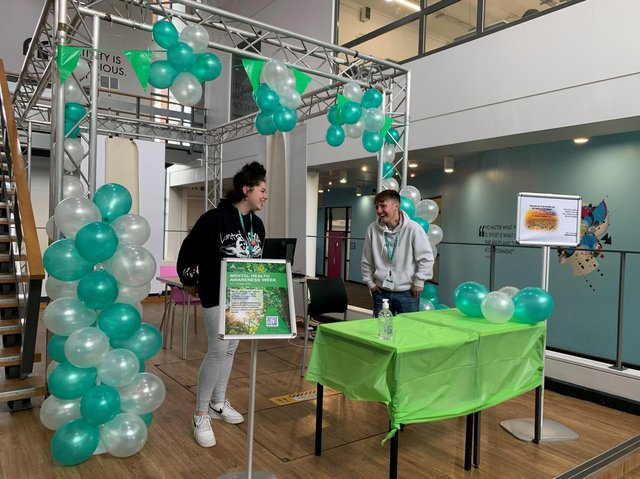 Staff and students at Banbury and Bicester College are taking part in a number of activities and initiatives as part of Mental Health Awareness Week, which runs from May 10 to 16. (Image from Activate Learning college group)