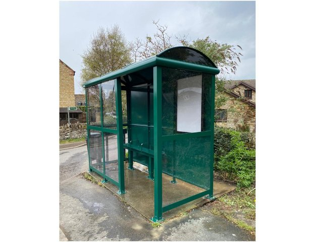 £10,000 HS2 grant helps fund replacement of South Northamptonshire village's 40-year old wooden shelters