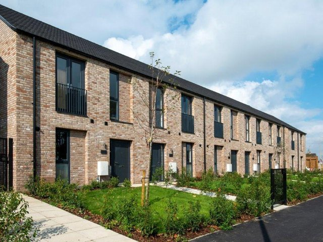 Work breathing life into the site of a disused pub has put a Bretch Hill housing scheme in the running for a national award. (Image from Cherwell District Council)