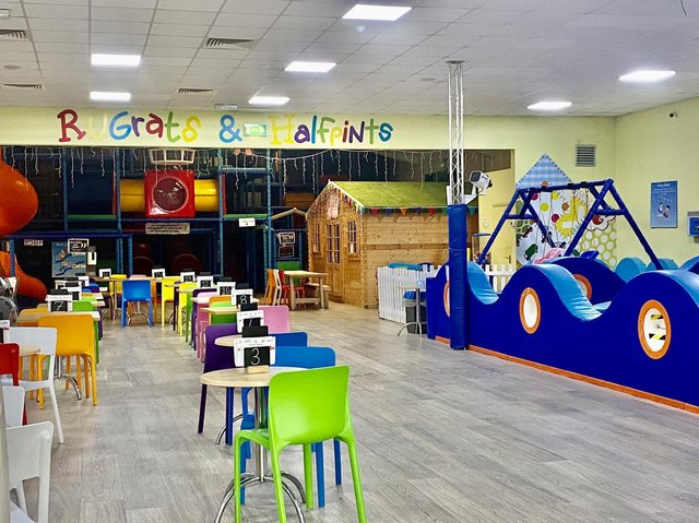 A children's soft play centre in Banbury - Rugrats & Halfpints - has reopened today (Monday May 17) with the completion ofsome major refurbishments. (Image from Rugrats & Halfpints)