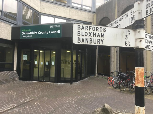 A coalition between Labour and the Conservatives has been proposed as the most secure way forward for Oxfordshire County Council, after elections left the authority without a single ruling group.
