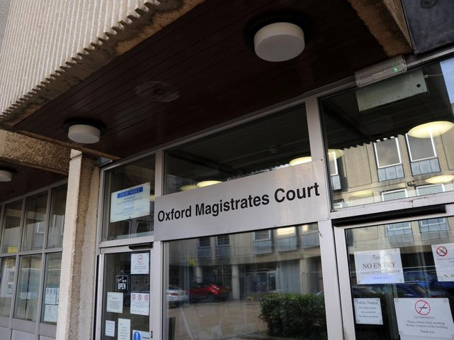 Oxford Magistrates' Court where cases from the Banbury area are heard