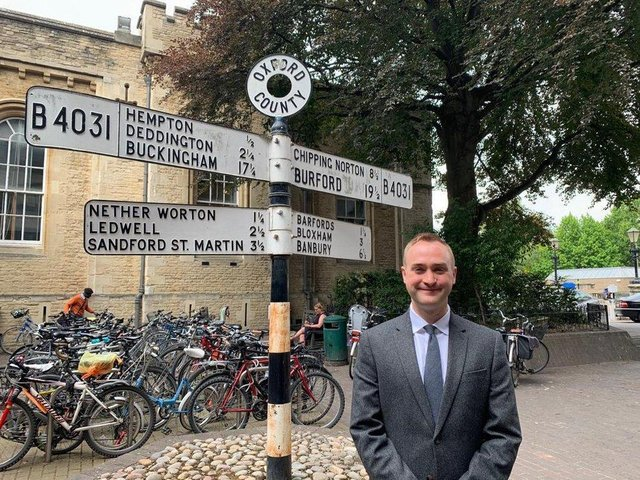 Banbury Cllr Eddie Reeves (Con) to lead opposition team for Oxfordshire County Council