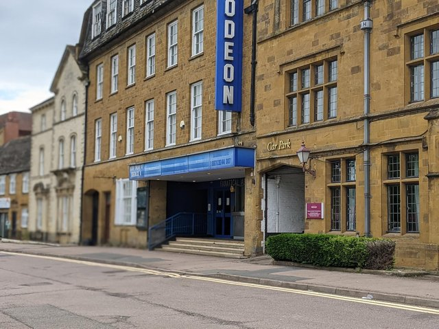 Banbury's ODEON cinema has yet to reopen like many of the others across the country