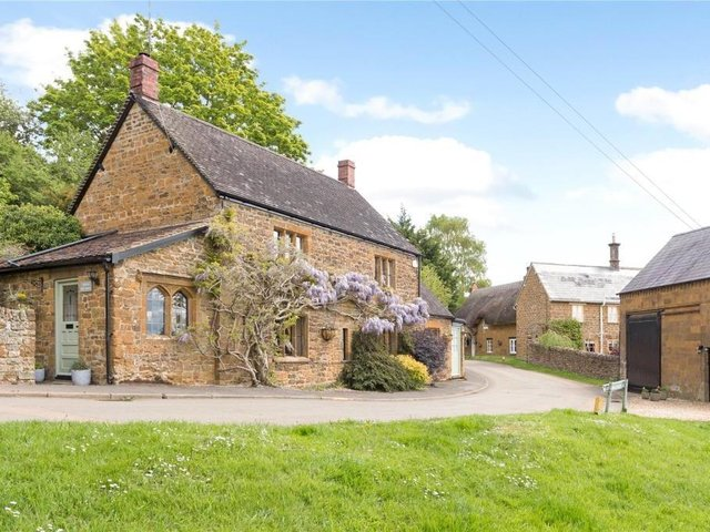 This former post office and coach house have come up for sale near Banbury in the village of Ratley (Image from Rightmove)