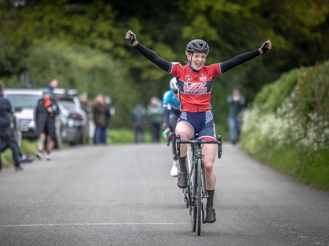 Winner Flora Perkins (Picture by Huw Williams)