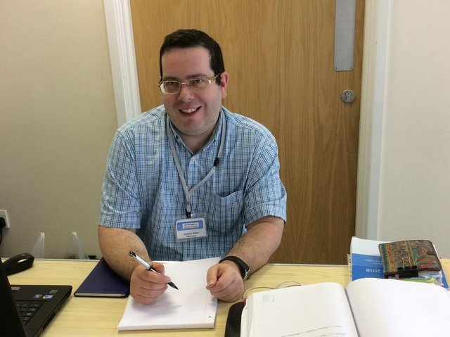 Andy Willis, founder of the successful Banburyshire Advice Centre which celebrates its fifth anniversary this month