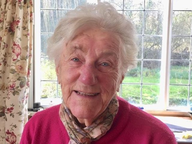 Joanna Chadwick, one of the last surviving Second World War service people, who has died aged 96