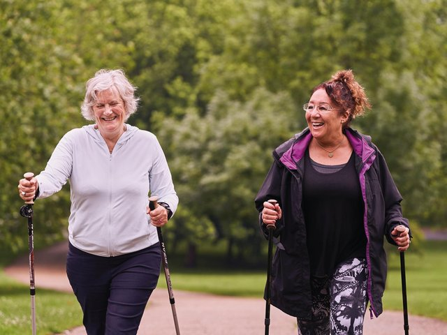 The new programme 'Move Together' will reach vulnerable residents across the county, helping them to increase their physical activity levels in a way that works for them. (photo credit Sport England)