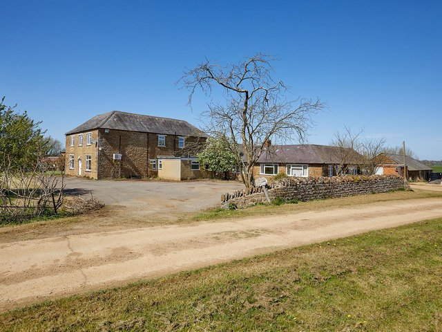 Sutton Lodge Farm, an arable farm of nearly 394 acres, is for sale between the villages of King's Sutton and Middleton Cheney near Banbury.