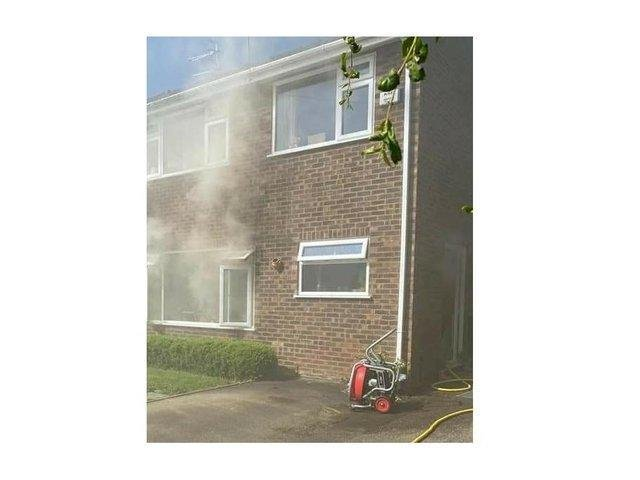In the latest incident, firefighters found a house in Lower Brailes heavily smoke-logged at about 9am yesterday (Thursday June 10). Photo by Warwickshire Fire and Rescue.