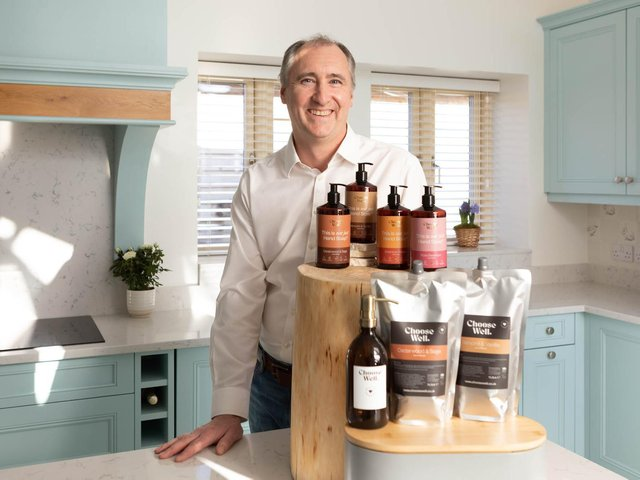 Stewart Roussel has launched ChooseWell a new Banbury-based social enterprise giving purpose to ordinary soap purchases