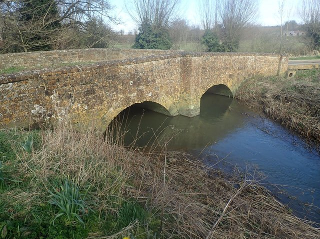 Barford Bridge, between Barford St John and Barford St Michael, has now reopened to vehicles subject to a 3 tonne weight limit and a 2 metre width limit. (Image from Oxfordshire County Council)