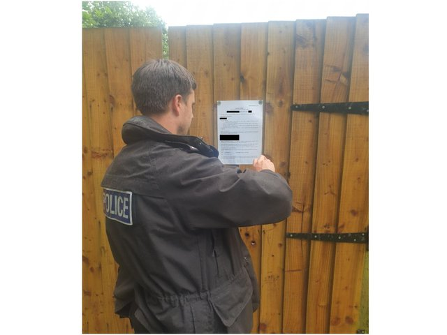 Closure order issued for Banbury property following drugs warrant (Image from TVP Cherwell Facebook post)