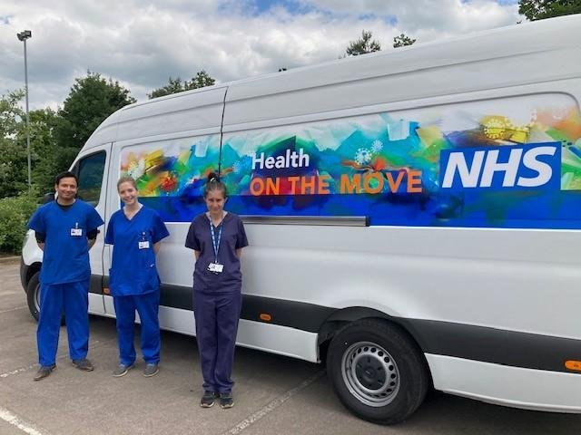 The Covid-19 vaccination programme is hitting the road across Oxfordshire, Buckinghamshire and parts of Berkshire to bring jabs closer to where people live and work.
