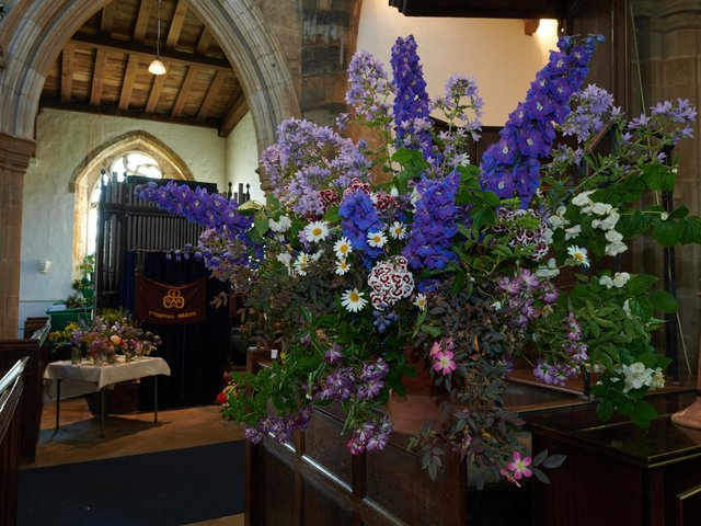 Stunning floral displays will be presented at this weekend's Church Festival in Chipping Warden